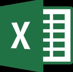 1996 Data, Excel